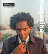 University Magazine cover featuring Lemn Sissay
